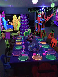 black light party ideas in birthday party ideas photo 1 of 41 catch my