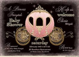 pink and gold baby shower invitations fairytale coach baby shower invitation princess royal