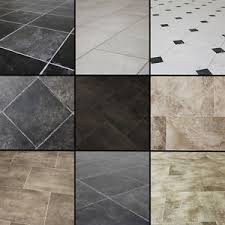 high quality tile effect vinyl flooring lino slate non slip
