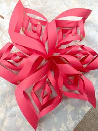 make a paper snowflake star christmas ornament hgtv