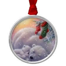 White Polar Bear Christmas Decorations by Polar Ornaments U0026 Keepsake Ornaments Zazzle