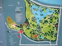 Royal Botanical Gardens Melbourne Map Map Of The Gardens Picture Of Royal Botanic Gardens
