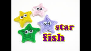 pipe cleaner craft starfish youtube