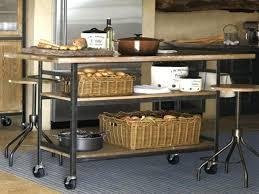 Metal Top Kitchen Island Rustic Kitchen Island On Wheels Wonderful Antique Kitchen Cart