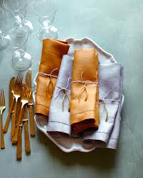 thanksgiving napkins paper wishbone napkin charms martha stewart