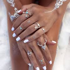 hand jewelry rings images Turquoise rings and hand jewelry accessories for women on sale jpg