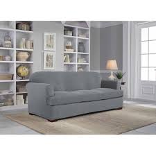White Slipcovered Sofa by Tips Soft T Cushion Chair Slipcovers For Elegant Interior