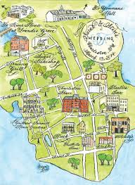 Charleston Map Calligraphy Map Gallery U2014 Designs By Robyn Love