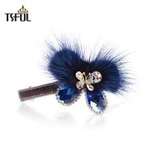 hairpin clip 49 best fur hair accessories images on hair accessory