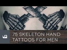 75 skeleton hand tattoos for men u2013 top tattoo