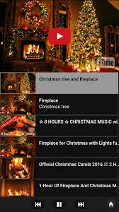 fireplace with christmas music binhminh decoration