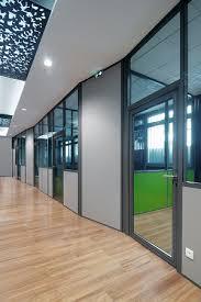 cloison pour bureau cloisons semi vitrées simple ou vitrage cloison bureau arte