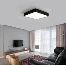eclairage bureau led moderne bureau éclairage led plafond les carré chambre salon s