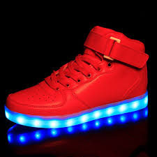 led light up shoes for boys size 25 46 kids light up shoes for children red led boots usb charge