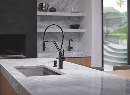 kitchen faucet black finish the solna articulating faucet in a matte black finish space