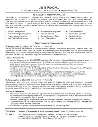 resume information technology manager technology project manager resume resume