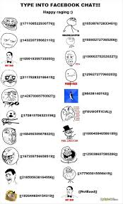 How To Make Facebook Memes - how to make rage comic faces in a facebook chat some funnies