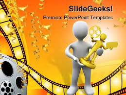 cinema powerpoint templates slides and graphics