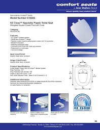 Eljer Emblem Wood Toilet Seat Amazon Com Thetford 42060 Aqua Magic Style Ii Toilet With Water