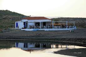 the small tavern on the beach of kria vrisi photo from krya vryssi