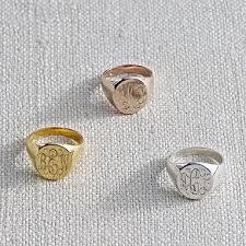 Monogram Rings Silver 129 Best Gold Signet Ring Images On Pinterest Signet Ring