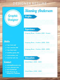 amazing resume templates creative word resume template graphic designer interesting resume