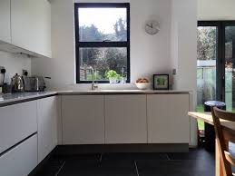 German Kitchen Cabinets Matt White Handleless Ware Blax Kitchens Ltd