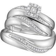 Wedding Rings Sets His And Hers by Wedding Rings His U0026 Her Sets