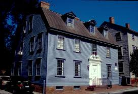 the langley king house ca 1710 and 1750 is a two and a half