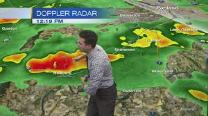 Portland Radar Map by Monday Noon Weather Update September 18th 2017 Youtube
