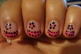 20 perfectly simple short nails nail art designs