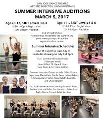 6 hours class online summer intensive program san josé theatre