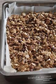 brouillon de cuisine granola maison sans sucre ajouté mes brouillons de cuisine