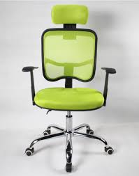 Office Chair Recliner Design Ideas Light Green Fabric Swivel Computer Chair With Reclining Back And