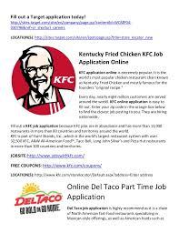 chicken kfc job application online kfc application online is