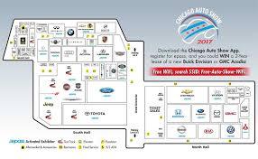 Auto Dealer Floor Plan Show Floor Map About Chicago Auto Show