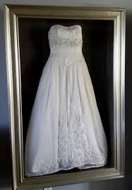 Wedding Wishes Keepsake Shadow Box Framed Wedding Dress By Floral Keepsakes In One Of Or Custom