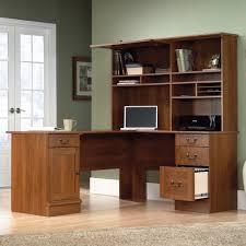 Desk L Shape Sauder Select Shaker Cherry L Shaped Desk 412750