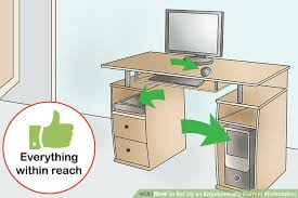 Desk Height Ergonomics How To Set Up An Ergonomically Correct Workstation 15 Steps