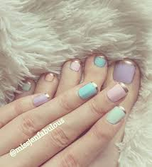 35 french nail art ideas color nails bald hairstyles and gold