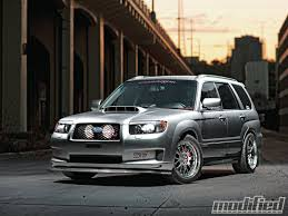 subaru xt 2007 subaru forester xt sports modified magazine