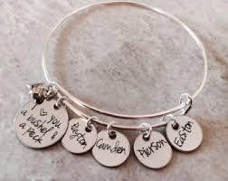 Personalized Bangle Bracelets Bangle Bracelets
