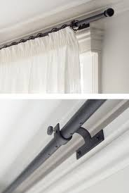 Curtain Pole For Bay Window Uk Stylish Bay Window Poles Made To Order Jim Lawrence