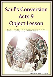 saul s conversion acts 9 object lesson