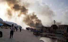 siege emirates pakistan seals karachi airport area emirates advises travellers
