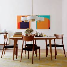 dining room tables expandable modern expandable dining table west elm