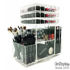Amazon Organizer Amazon Com Ondisplay Rotating Acrylic Cosmetic Makeup Organizer