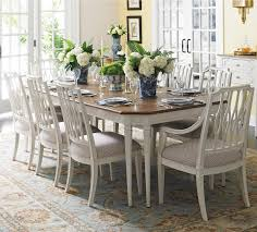 stanley pedestal dining table stanley furniture charleston regency 9 piece rectangle table with 8
