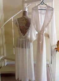 peignoir sets bridal wedding ideas 97 weddbook