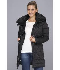 the north face apres parkina down jacket in black lyst